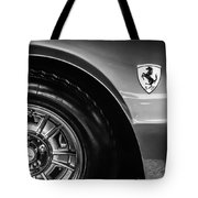 1971 Ferrari Dino Gt Wheel Emblem -027c Tote Bag