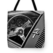 1971 Iso Grifo Can Am Steering Wheel Emblem Tote Bag