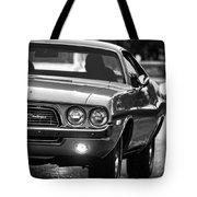 1972 Dodge Challenger Tote Bag
