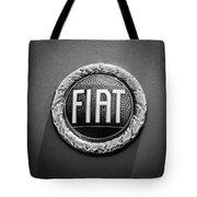 1972 Fiat Dino Spider Emblem Tote Bag