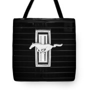 1972 Ford Mustang Boss 302 Grille Emblem Tote Bag
