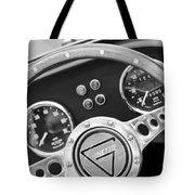 1972 Ginetta Steering Wheel Emblem Tote Bag