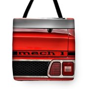 1973 Ford Mustang Mach 1 Tote Bag