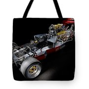 1974 Lola T332  F5000 Race Car V8 5 Litre Chassis Tote Bag
