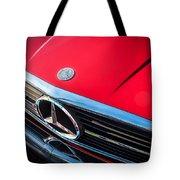 1984 Mercedes 500 Sl Convertible Tote Bag