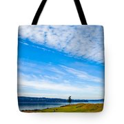 #2 At Chambers Bay Golf Course - Location Of The 2015 U.s. Open Tournament Tote Bag