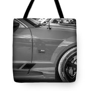 2006 Ford Saleen Mustang Bw Tote Bag