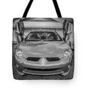 2006 Mitsubishi Eclipse Gt V6 Painted Bw Tote Bag