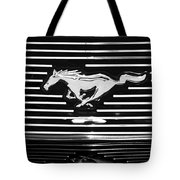 2007 Ford Mustang Grille Emblem Tote Bag