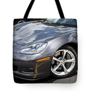2010 Chevy Corvette Grand Sport Tote Bag