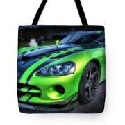 2010 Dodge Viper Acr Tote Bag