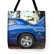 2010 Plymouth Superbird  Tote Bag