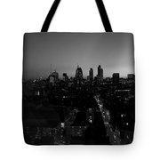2013 City Of London Skyline Tote Bag