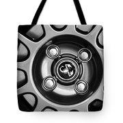 2013 Fiat Abarth Wheel Emblem Tote Bag