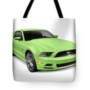 2013 Ford Mustang Gt 5.0 Sports Car Tote Bag