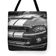 2013 Ford Mustang Shelby Gt 500 Bw Tote Bag