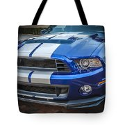 2013 Ford Mustang Shelby Gt 500  Tote Bag