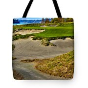 #3 At Chambers Bay Golf Course - Location Of The 2015 U.s. Open Championship Tote Bag by David Patterson