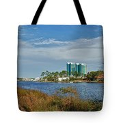 5 Oclock On Cotton Bayou Tote Bag