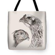 51. Game Hens Tote Bag