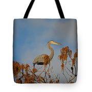 7- Great Blue Heron Tote Bag