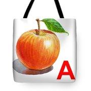 A Art Alphabet For Kids Room Tote Bag