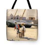 A Basket Of Clams Tote Bag