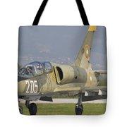 A Bulgarian Air Force L-39 Albatros Tote Bag