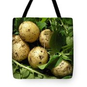 A Bunch Of Fresh New Potatoes Tote Bag