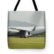 A C-17 Globemaster IIi Of The U.s. Air Tote Bag