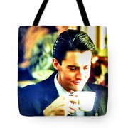 A Damn Fine Cup Of Coffee Tote Bag
