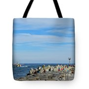 A Day At The Beach 2 Tote Bag