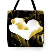 A Flower In The Shadows Tote Bag