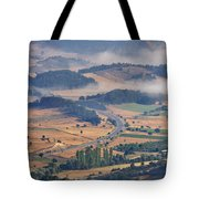 A Foggy Day Tote Bag