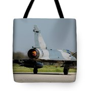 A Hellenic Air Force Mirage 2000 Egm Tote Bag