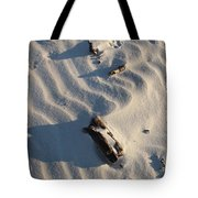 A Line In The Sand Tote Bag