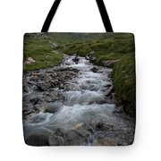 A Mountain Stream In Vanoise National Tote Bag