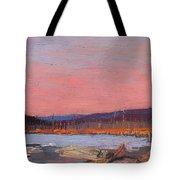 A Northern Lake Tote Bag