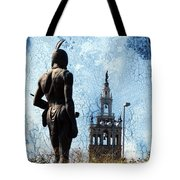 A Plaza View Tote Bag