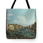 A Regatta On The Grand Canal Tote Bag