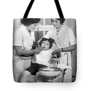 A Reluctant Patient Tote Bag