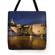 A Royal Air Force C130j Hercules  Tote Bag