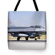 A Turkish Air Force F-16d Block50+ Tote Bag