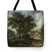 A Woody Landscape Tote Bag
