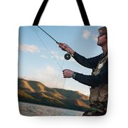 A Young Man In His Early Thirties  Fly Tote Bag