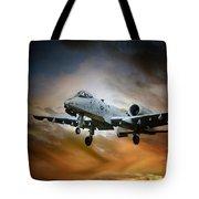 A10 Thunderbolt II Tote Bag