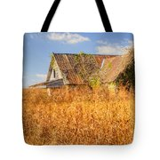 Abandoned Farmhouse In Field 3 Tote Bag