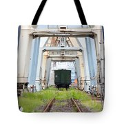 Abandoned Industrial Dock Tote Bag