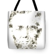 Abraham Lincoln Paint Drops Tote Bag