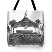 Abraham Lincoln's Funeral Tote Bag
